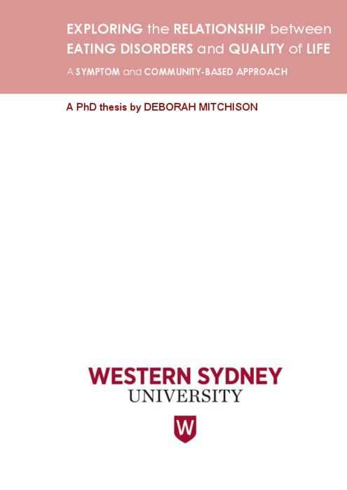 Western Sydney University ResearchDirect