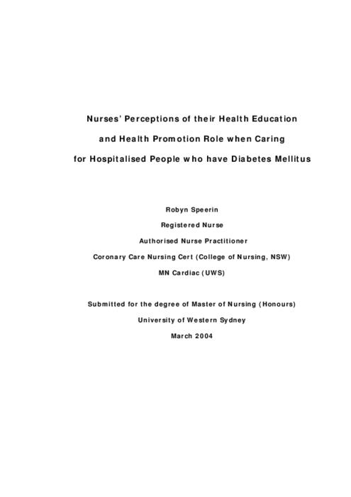 role of health education in health promotion