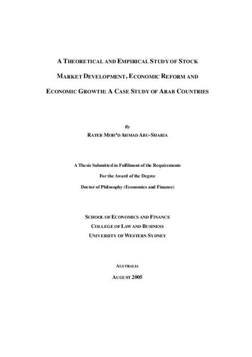 economic case study