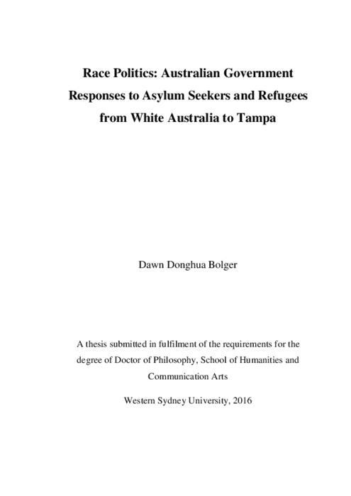 Dissertation on aslyum seekers