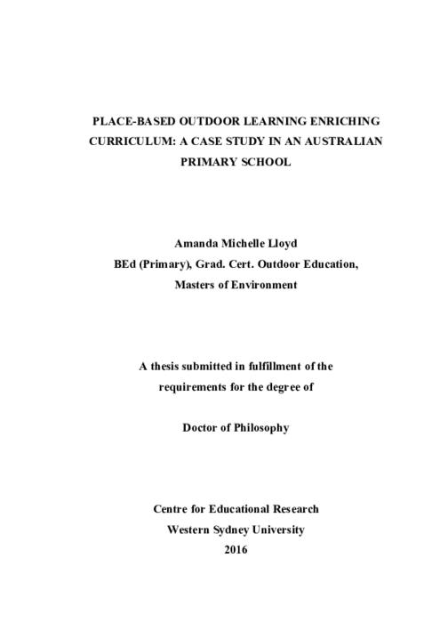primary education research