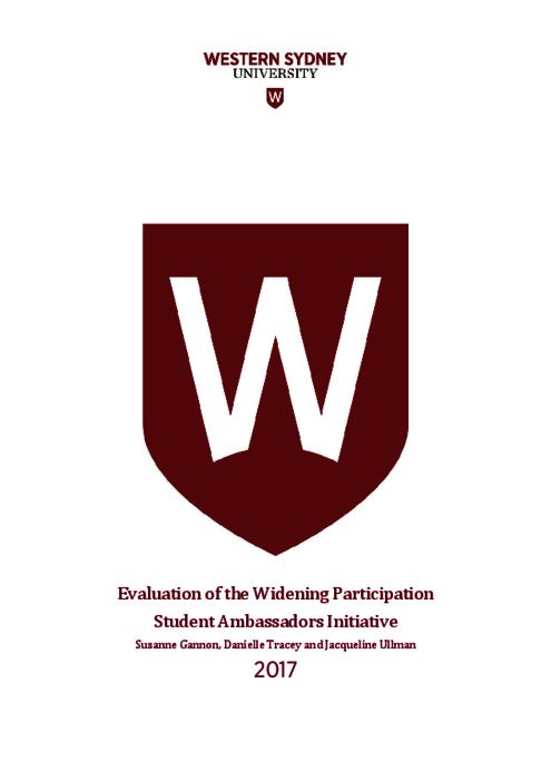 Evaluation of the Widening Participation Student Ambassadors