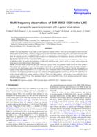 Multi-frequency observations of SNR J0453-6829 in the LMC : a composite supernova remnant with a pulsar wind nebula