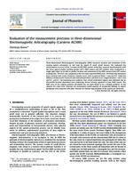 Evaluation of the measurement precision in three-dimensional Electromagnetic Articulography (Carstens AG500)
