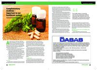 Complementary medicine : important to our healthcare system
