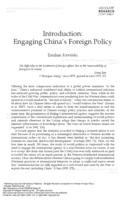 Introduction : engaging China's foreign policy