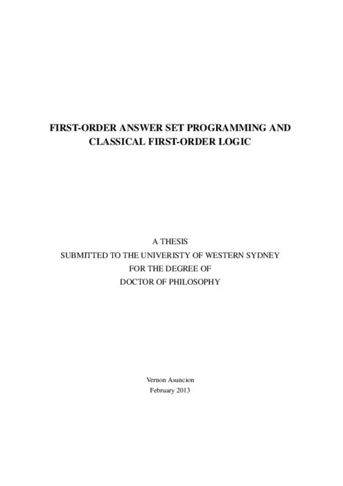 first order logic pdf download