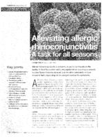 Alleviating allergic rhinoconjunctivitis : a task for all seasons
