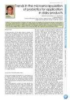 Trends in the microencapsulation of probiotics for application in dairy products