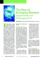 The rise of emerging markets : opportunities and challenges for IT