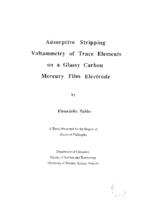 Adsorptive stripping voltammetry of trace elements on a glassy carbon mercury film electrode