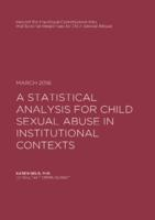A Statistical Analysis of Sentencing for Child Sexual Abuse in Institutional Contexts