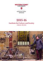 2015–16 Institute for Culture and Society Annual Review