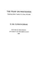 'film' on whiteness : depicting white trash in U.S. film, 1972-2002