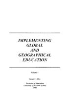 Implementing global and geographical education