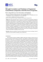 Strength correlation and prediction of engineered cementitious composites with microwave properties