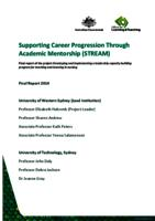 Supporting Career Progression Through Academic Mentorship (STREAM): Final Report of the Project Developing and Implementing a Leadership Capacity Building Program for Teaching and Learning in Nursing