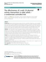 The effectiveness of a web 2.0 physical activity intervention in older adults : a randomised controlled trial