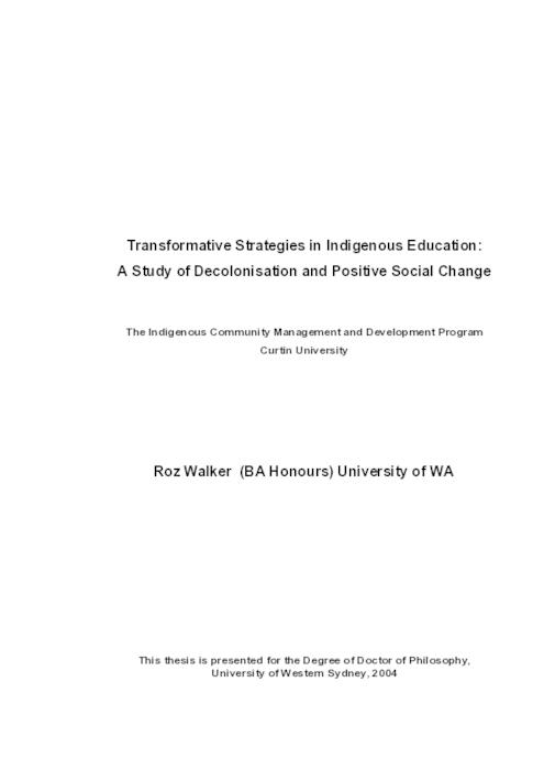 social change and education pdf