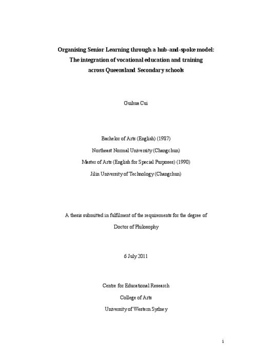 university of queensland thesis collection