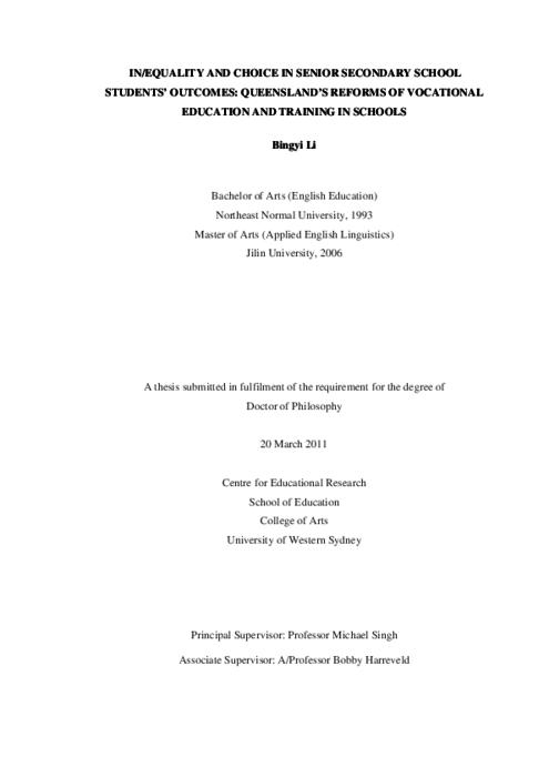 university of queensland thesis collection The university of queensland  judging criteria home resources comprehension and content  was the thesis topic, research significance, results/impact and .